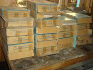 Cement and tiles has been delivered to medical center