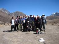 Group during Trekking