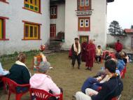 Welcome Ceremony at Takshindu Monastery