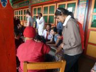 Health Camp at Thuptengcholing Monastery