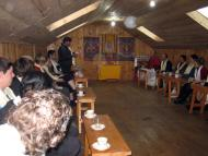 Tea Party organized at Takshindu Monestery and Serlo Monestery by Head Lama
