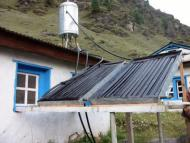New solar panel made by local industry supported by Kushudebu Public Health Mission, Nepal