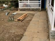 Completion of stone pavement work