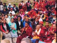 Locals and Monks from Beni VDC