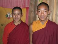 Buddist school monks