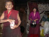 Nuns from Thubten Choling Monastary