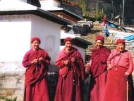 Nuns at Thubten Choling Monastery
